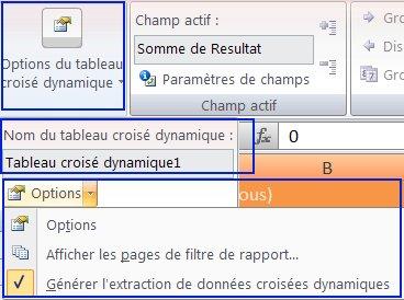 Les Tableaux Croises Dynamiques Dans Excel2007